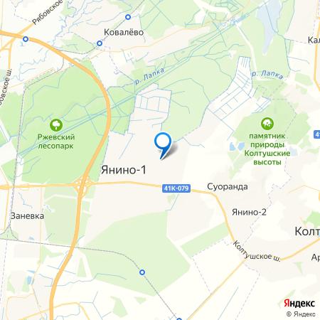 Янила Драйв на карте