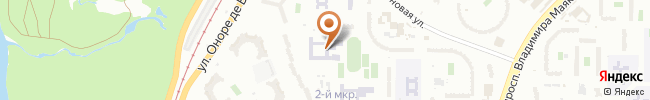 Автошкола Мустанг на карте, г. Киев ул. Бальзака, 8-Г (СШ 264)