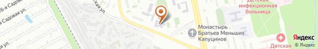 Автошкола Ютекс-Транс-Сервис на карте, г. Киев, Ул. Старосельская, 2