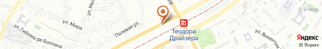 Автошкола Автоучсервис на карте, г. Киев, ул. Бальзака, 8-Г, школа №264