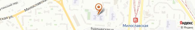 Автошкола Автолюбитель на карте, г. Киев, ул. Будищанская, 8, (школа № 320)