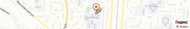 Автошкола АвтоСанта на карте, г. Киев, ул. Лисковская, 4-б