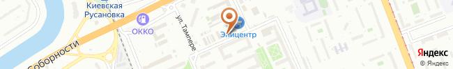 Автошкола Навигатор на карте, г. Киев, пр-т Воссоединения, 7б