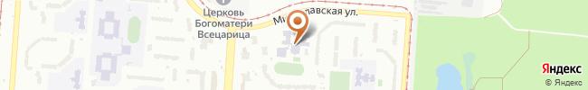 Автошкола Боллид на карте, г. Киев, ул. Милославская, 7