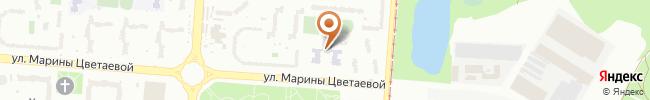Автошкола Карат на карте, г. Киев, ул. М. Цветаевой 6 (с/ш №294)