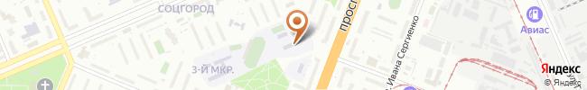 Автошкола Экспресс-Авто на карте, г. Киев, пр. Ю.Гагарина, 11