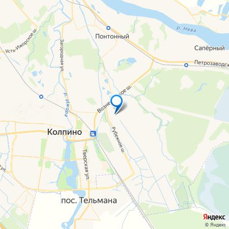 Юттери на карте
