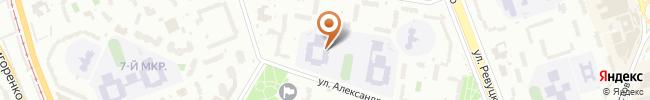 Автошкола Мустанг на карте, г. Киев ул. Кошица, 8 (СШ № 296)