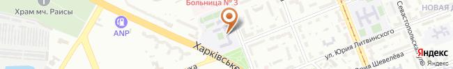 Автошкола Аркада на карте, г.Киев, ул. Симферопольская, 10