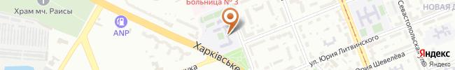 Автошкола Матрикс на карте, г. Киев, ул.Симферопольская, 10