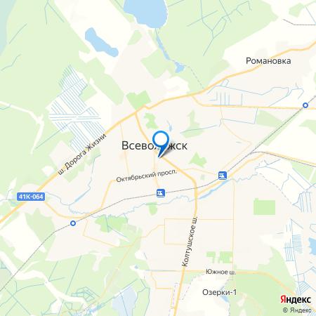 Вахрушева на карте
