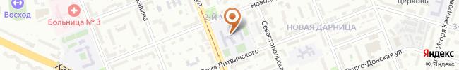 Автошкола Автопрофи на карте, г. Киев, Киев, ул. Ялтинская, 13