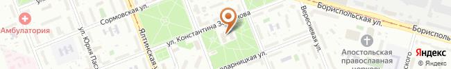 Автошкола СТАРТ на карте, г. Киев, ул. Заслонова, 18