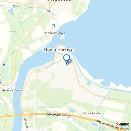 Шлиссельбургский дворик на карте