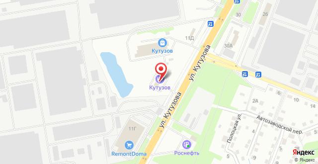 Арт-отель Кутузов на карте