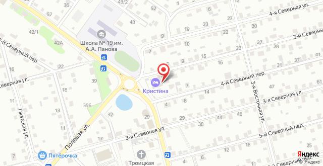 Ресторанно-гостиничный комплекс Кристина на карте