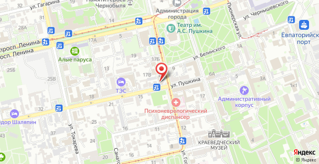 Отель Петр на карте