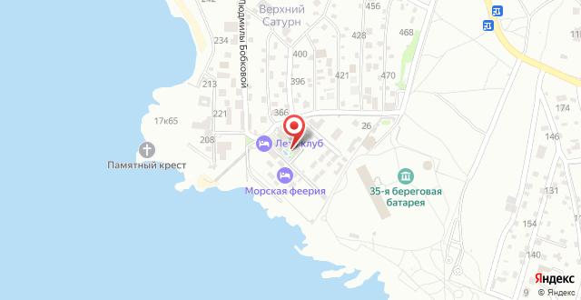 Гостиница Deep Town на карте