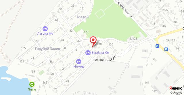 Гостевой дом Добрый шкипер на карте