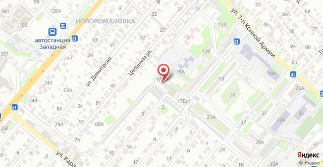 Мини-отель Колибри на карте