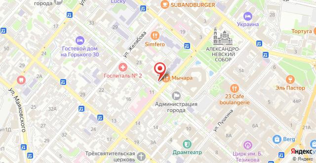 Центр-Отель на карте