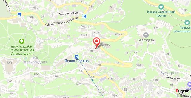 Гостевой дом Peyzazh на карте