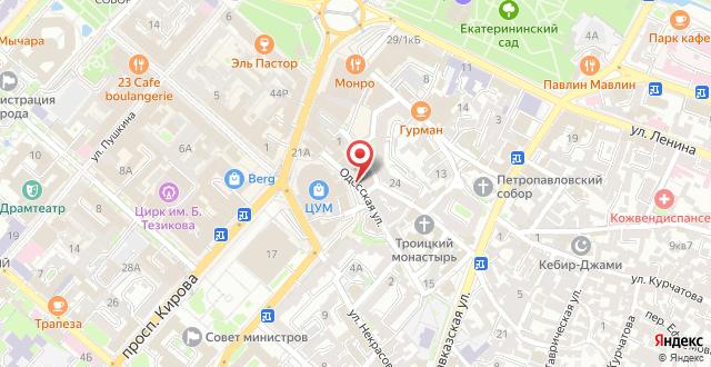 Гостиница Valencia на карте
