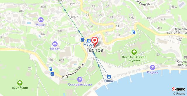 Гостиничный комплекс Рубикон на карте