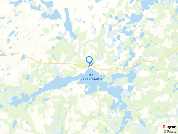 Коттеджа на карте