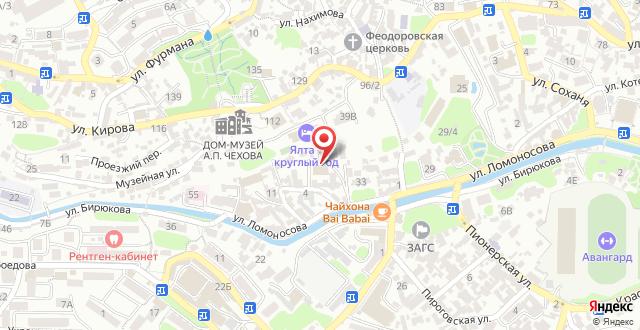 Туристский комплекс Ялта - Круглый год на карте