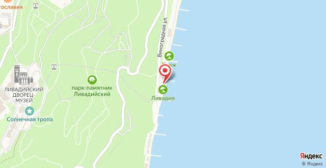 Спа-отель Ливадийский на карте