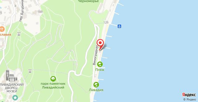 Отель Азор на карте