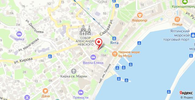 Отель Вилла Елена на карте
