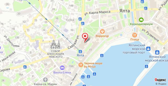Президент-отель Таврида на карте