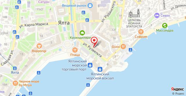 Отель Бристоль на карте
