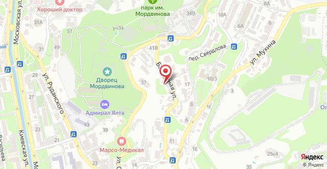Отель Крымский на карте