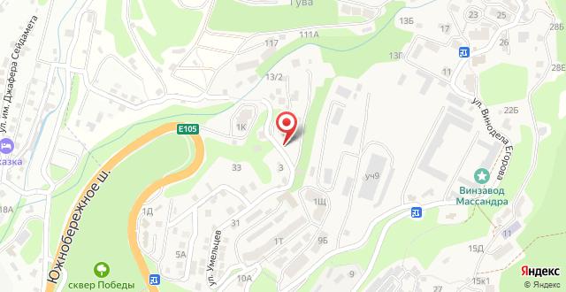 Мини-отель Yalta Flat на карте