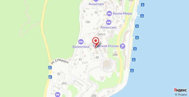 Мини-отель Амэлиа на карте