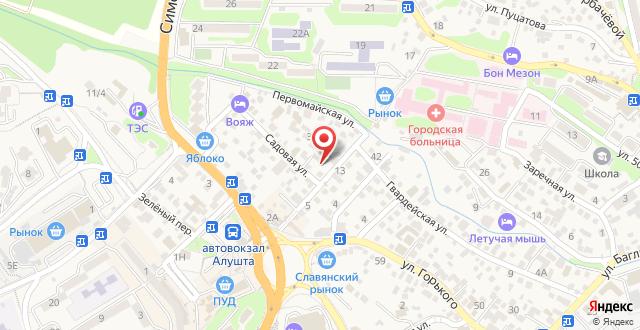 Гостевой дом Рыжий Кот на карте