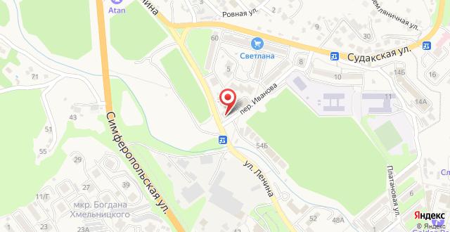 Гостиница Равенна на карте