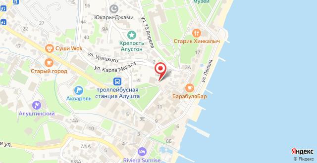 Парк-Отель Прага на карте
