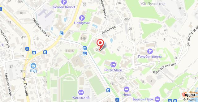 Парк-Отель Porto Mare на карте