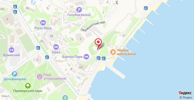 Гостиница Barton Park на карте