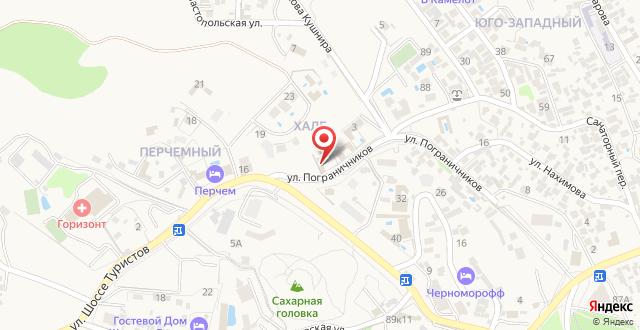 Мини-отель Парадиз на карте