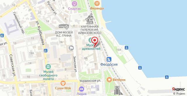 Гостиница Grand Astoria на карте