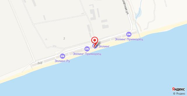 Эллинг Приморец на карте