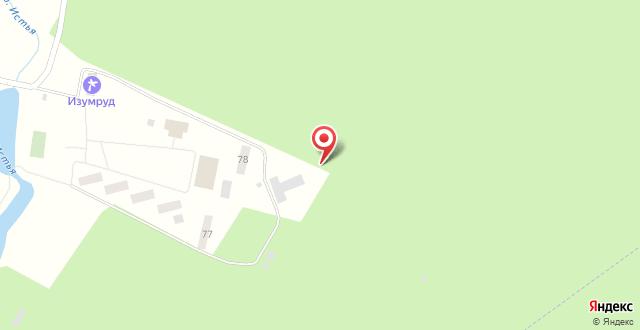 Оздоровительный комплекс Изумруд на карте
