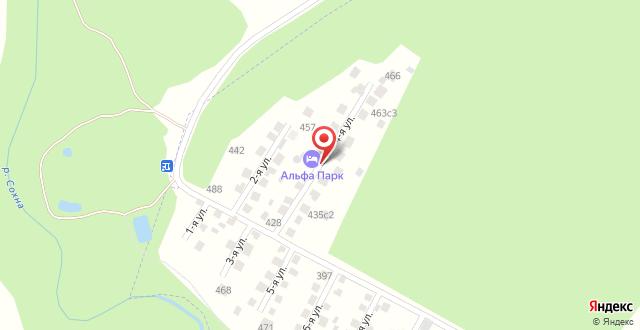 Парк-Отель Альфа Парк на карте