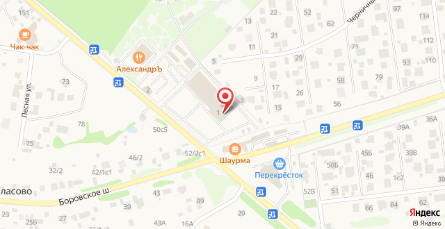Загородный клуб Александръ на карте