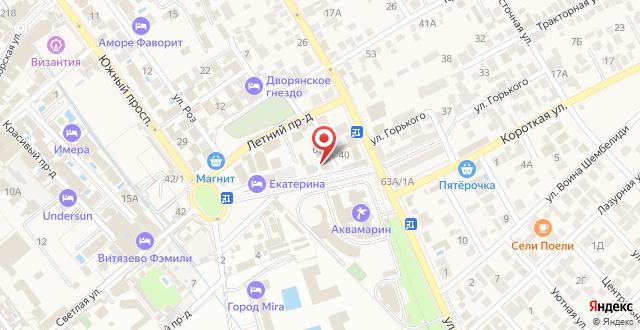 Отель Артика на карте